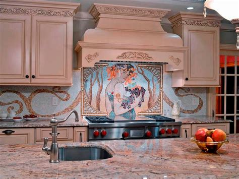 mosaic glass backsplash kitchen 30 trendiest kitchen backsplash materials kitchen ideas