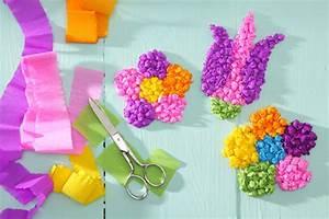 Einfache Papierblume Basteln : bastelanleitung f r zauberhafte blumen tambini ~ Eleganceandgraceweddings.com Haus und Dekorationen