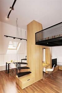 Haustiere Für Kleine Wohnung : kleine r ume einrichten minimalistisches design aus holz ~ Lizthompson.info Haus und Dekorationen