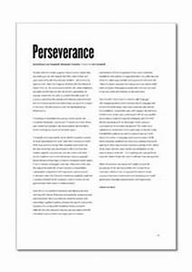 How To Make A Thesis Statement For An Essay Essay On Perseverance And Dedication Meaning Top English Essays also Healthy Diet Essay Essay On Perseverance Start Personal Statement Essay On Perseverance  University English Essay