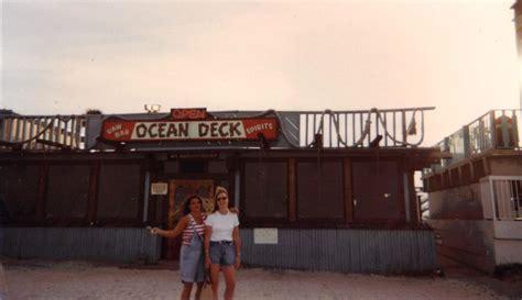 the history of ocean deck ocean deck