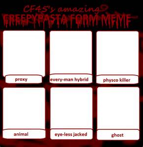 Creepypasta Memes