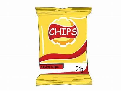 Chips Bag Clipart Chip Potato Svg