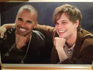 Matthew Gray Gubler and Shemar Moore | Matthew Gray Gubler ...