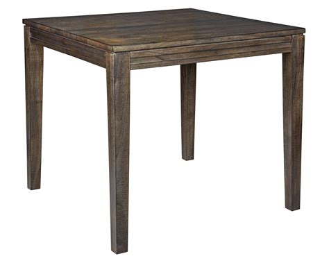 wood counter height dining table solid wood counter height dining table by kincaid