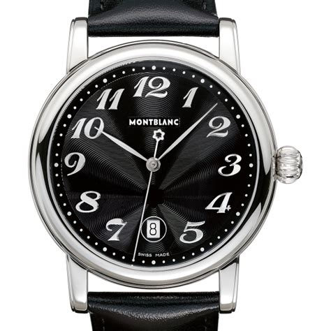 montres mont blanc prix