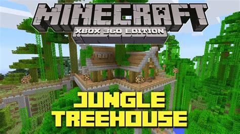 minecraft xbox  cool jungle treehouse tu creation