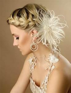 Coiffure Femme Pour Mariage : 50 id es pour votre coiffure mariage cheveux mi longs ~ Dode.kayakingforconservation.com Idées de Décoration