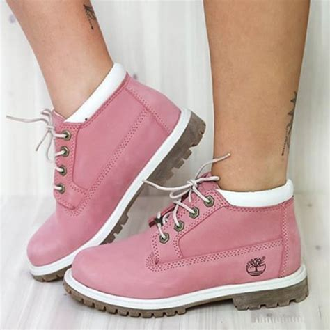 Timberland Boat Shoes Pink by Shoes Boots Pink Boots Pink Suede Timberland Boots