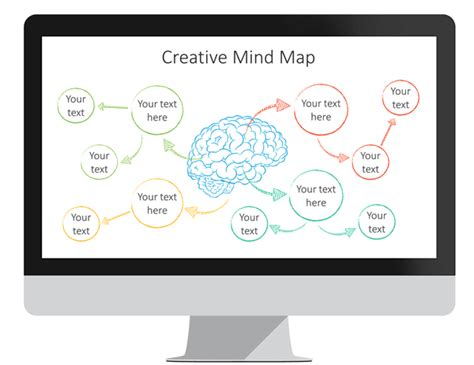 mind map powerpoint template presentationdeckcom
