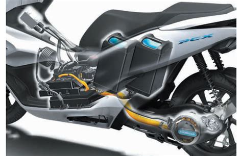 Honda Pcx Electric Modification by Honda To Begin Lease Sales Of Electric Scooter Pcx