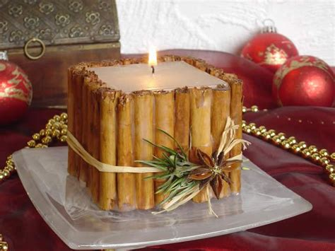 come decorare le candele decorare candele con cannelle 13066 come fare tutto