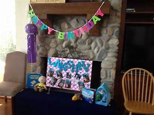 cover foam core board with inexpensive plastic table cover With happy birthday foam letters