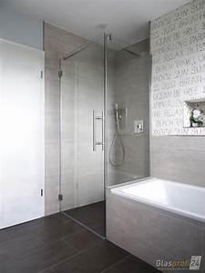 Duschtrennwand Badewanne Glas : badewannen anschluss als glasdusche glasprofi24 ~ Michelbontemps.com Haus und Dekorationen