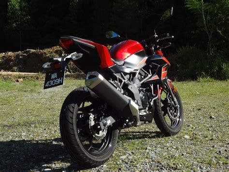 Review Kawasaki Z250sl by Test Ride Review Kawasaki Z250sl Autofreaks