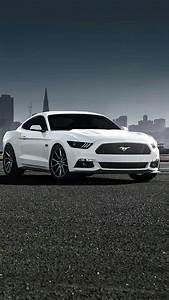 Ford Mustang White iPhone Wallpaper - iPhone Wallpapers : iPhone Wallpapers