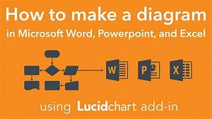 Make A Diagram In Microsoft Office Using Lucidchart