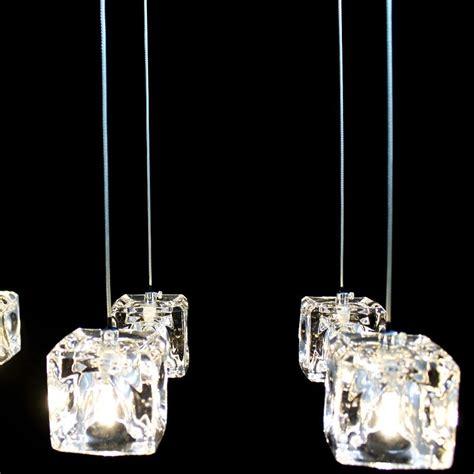 versandkostenfrei mini pendelleuchte kristall modern chrom
