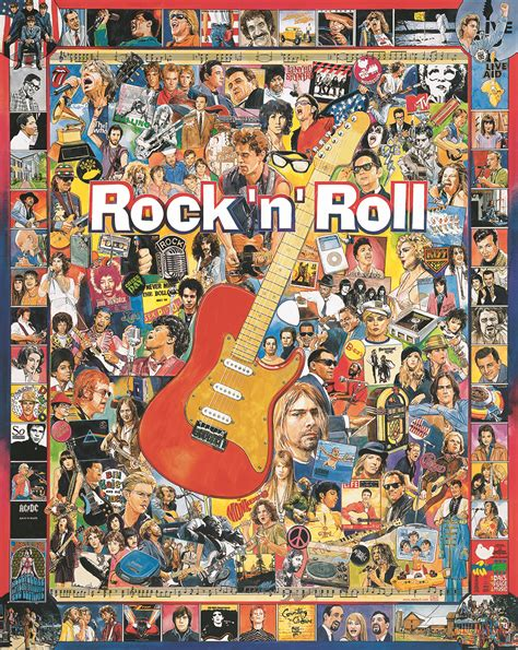 Rock N Roll Puzzleswhite Mountain Puzzles