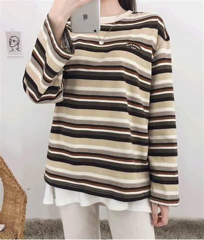 Shirt Striped Mixxmix Close
