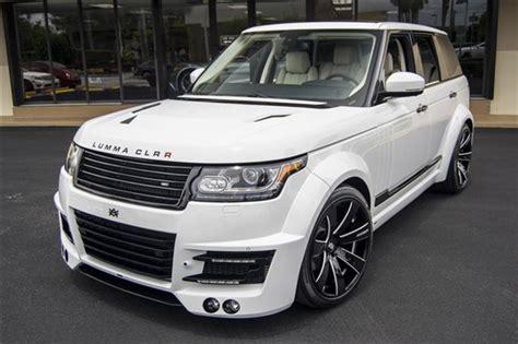 range rover hse lumma clr  widebody rare cars