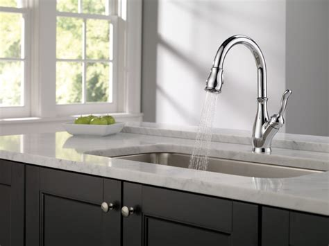 Delta Faucet 9178 Ar Dst Canada by 9178 Dst Single Handle Pull Kitchen Faucet