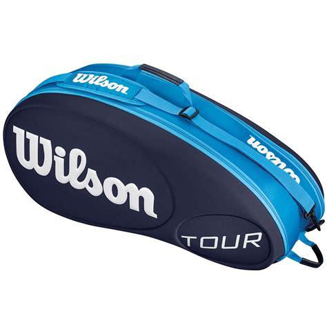 wilson   pack tennis bag blue