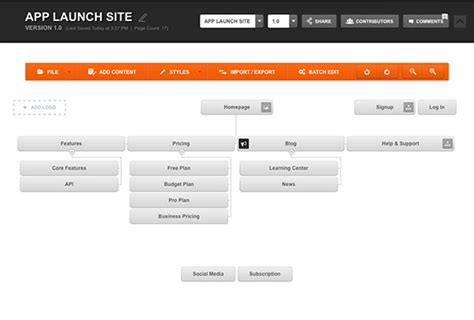Design Website Sitemaps For Any Project Slickplan