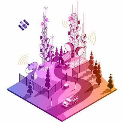 Telecommunications Telecom Gis Illustration Growth Esri Banner