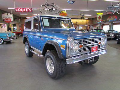 buy   ford bronco  automatic  lynnwood