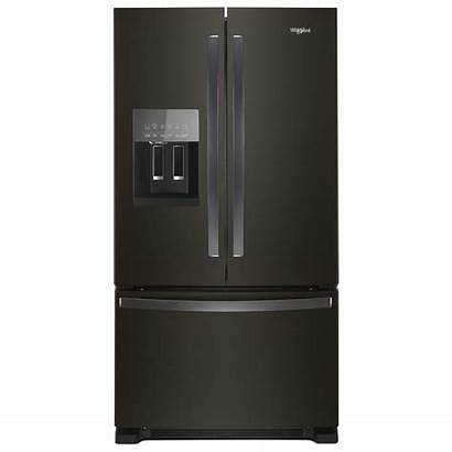 Whirlpool Refrigerator Door French Stainless Cu Ft
