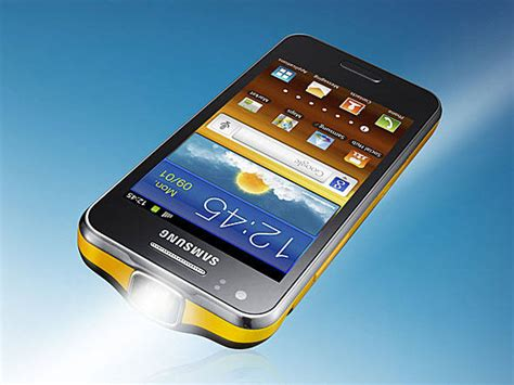 phone with projector samsung lan 231 a smartphone android e projetor embutido