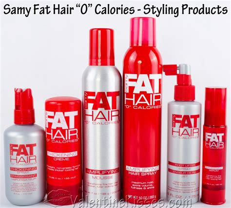 "Valentine Kisses: Samy Fat Hair ""0"" Calories hair care"