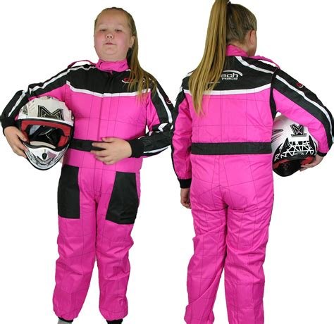 Childrens Kids RACE SUIT Overalls Karting Motocross Racing One Piece Dirt Bike | eBay