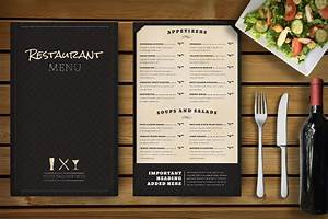 34 restaurant menu templates free sample example With resturant menu template
