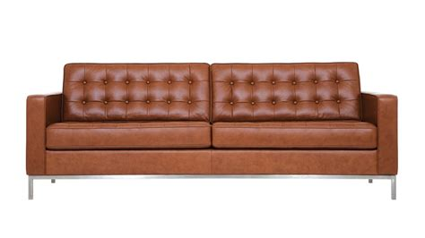 seated leather sectional sofa reverie sofa by eq3 at five elements furniture