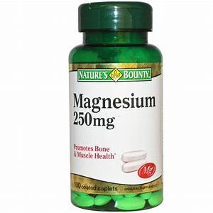 Magnesium 250mg 100 Caplets - Source Nature U0026 39 S Bounty