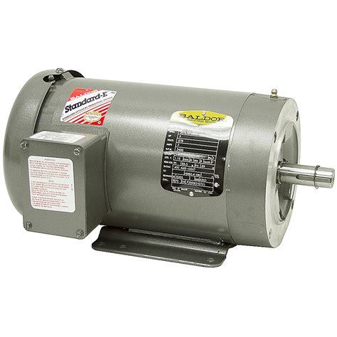 3 Phase Motor by 3 Hp 3450 Rpm 575 Volt Ac 3ph Motor Baldor M3559t 5