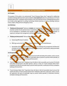 Construction Safety Policies Procedures Bc I Templates
