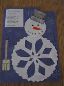 Snowman Snowflake Craft