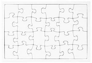Puzzle Zum Ausdrucken : creleo 790089 puzzle zum bemalen viereck 30 teile 10 ~ Lizthompson.info Haus und Dekorationen