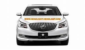 Buick Lacrosse Halogen Headlight Upgrade Replace To Hid Bi