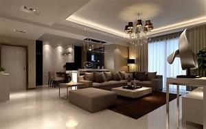 Wohnzimmer Einrichten Brauntöne : beispiele zum wohnzimmer einrichten 30 moderne ideen ~ Watch28wear.com Haus und Dekorationen