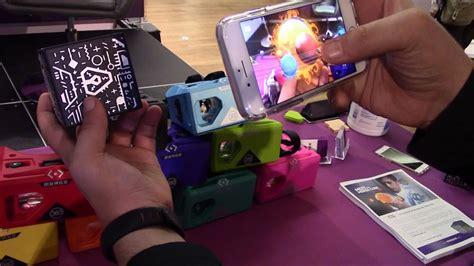 augmented reality   merge cube ce week ny  youtube