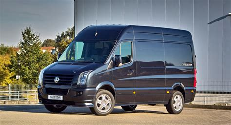 vw crafter tuning hartmann tuning gives the volkswagen crafter some attitude