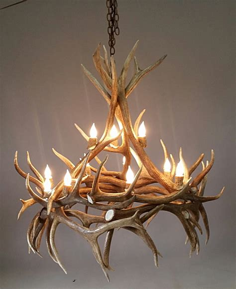 Antler Chandelier Shop by Hayman Elk Antler Chandelier Large 12 Lights The Peak