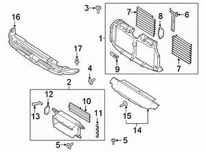 Ford Expedition Radiator Shutter Assembly  Lower