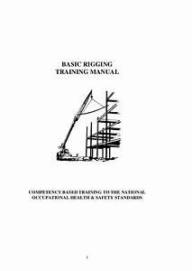 Basic Rigging Training Manual