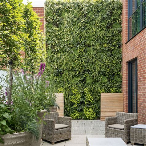 living wall   dramatic vertical garden ideal home