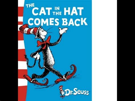 cat in the hat read aloud the cat in the hat comes back by dr seuss read aloud